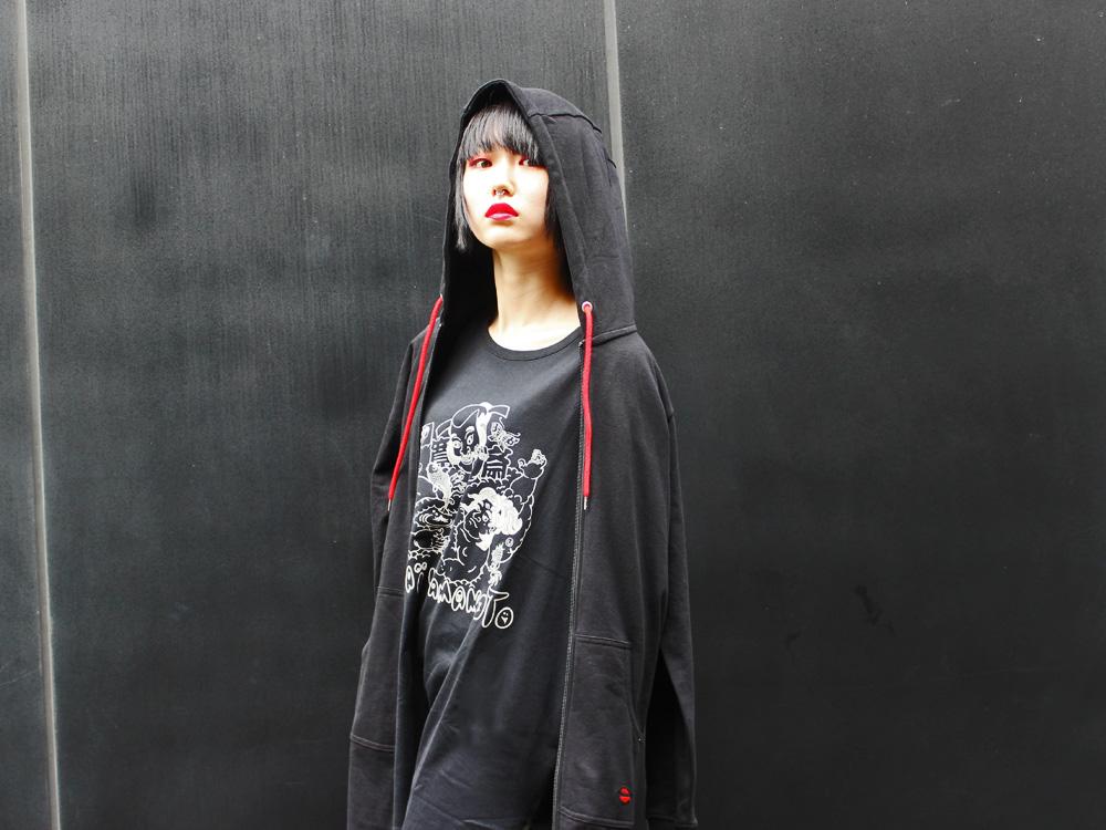 Japanese Designer Kansai Yamamoto Popup Shop At Laforet