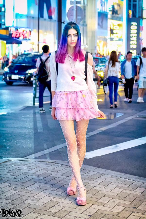 Manon's Harajuku Street Style w/ Dip Dye Hair & 6%DOKIDOKI Items