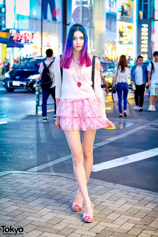 Manon 39 S Harajuku Street Style W Dip Dye Hair 6 Dokidoki