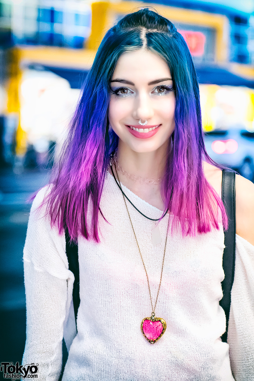 Manon S Harajuku Street Style W Dip Dye Hair Amp 6 Dokidoki
