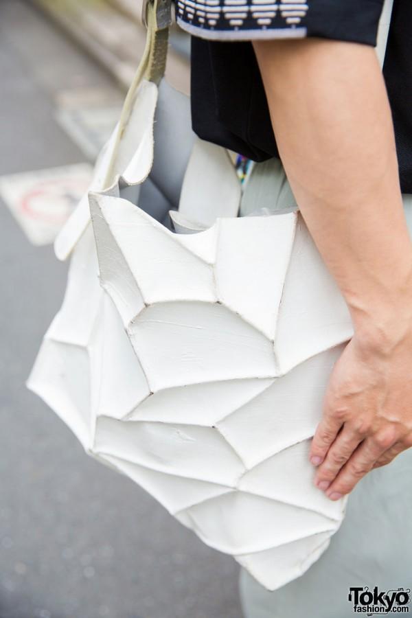 Kagari Yusuke geometric bag