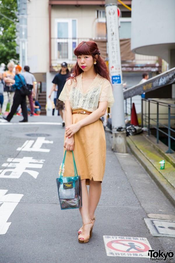Vintage Street Fashion in Harajuku