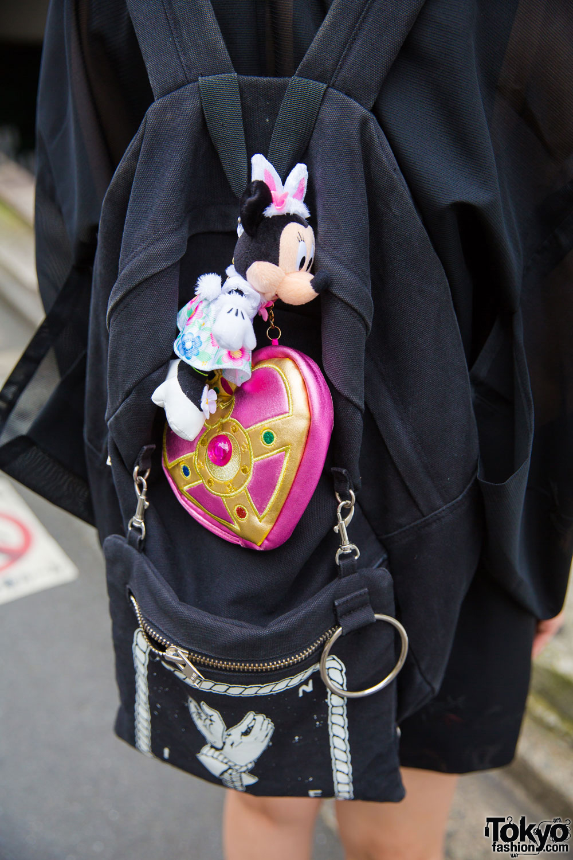 Harajuku Girl In Sheer Jacket W Dvmvge Unif Tokyo