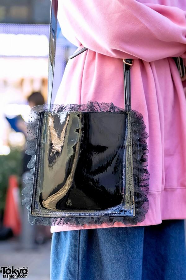 E-Hyphen World Gallery Bon Bon Ruffle Bag