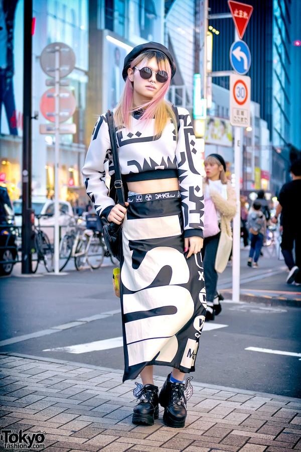 DVMVGE x Glad News x Nyulycadelic x Yosuke Harajuku Street Style