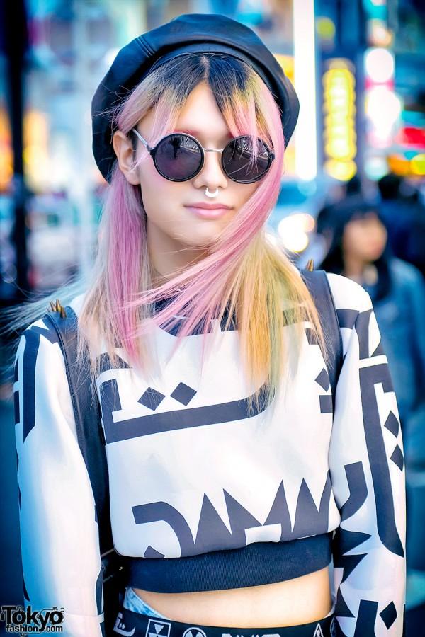 Nyulycadelic Beret & Pastel Hair