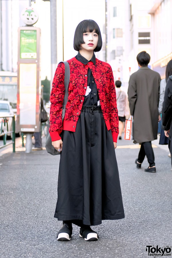 Comme Des Garcons, Yohji & Fessura Mummy Shoes on the Street in Harajuku