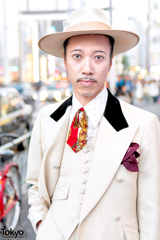 Retro Men S Zoot Suit Style In Tokyo W Juvenile