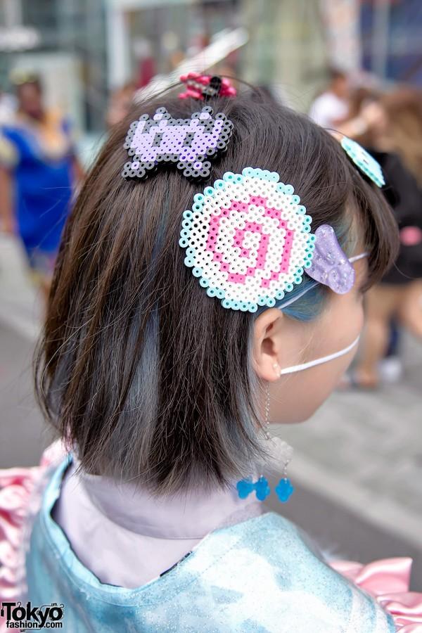 Pacman Hair Clips in Japan