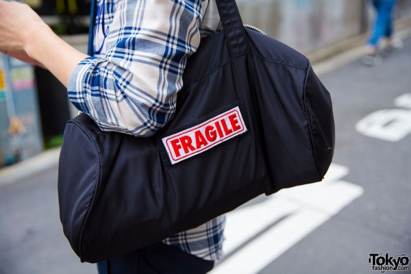 """Fragile"" Handbag"