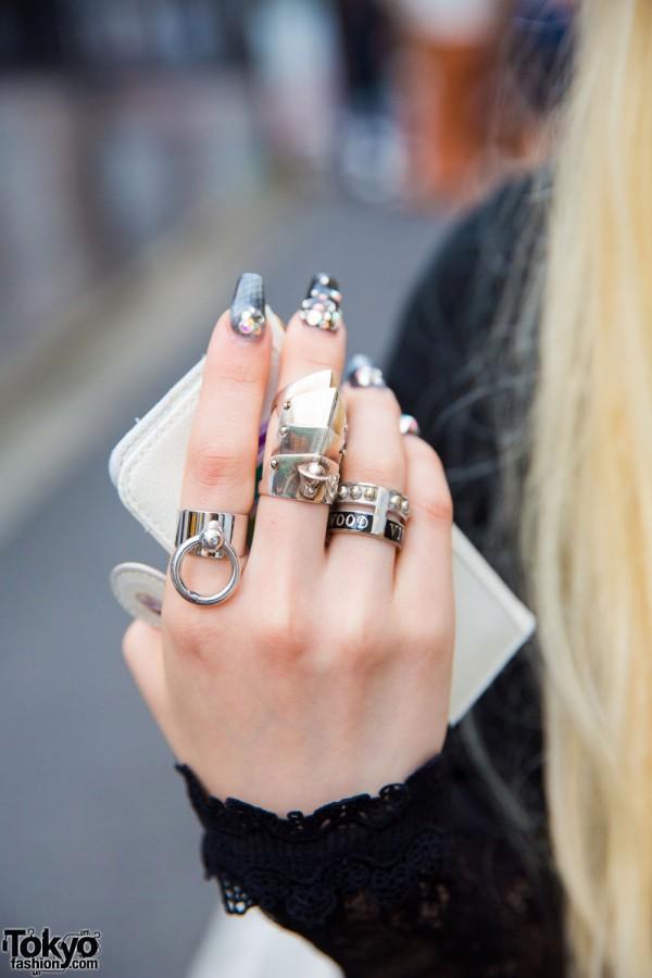 Silver Rings by Vivienne Westwood