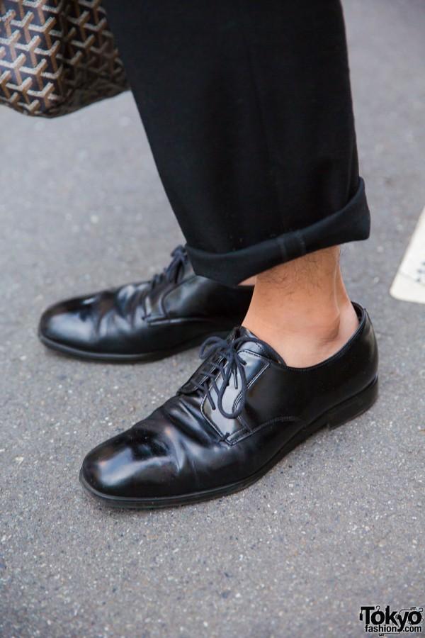 Prada Leather Dress Shoes