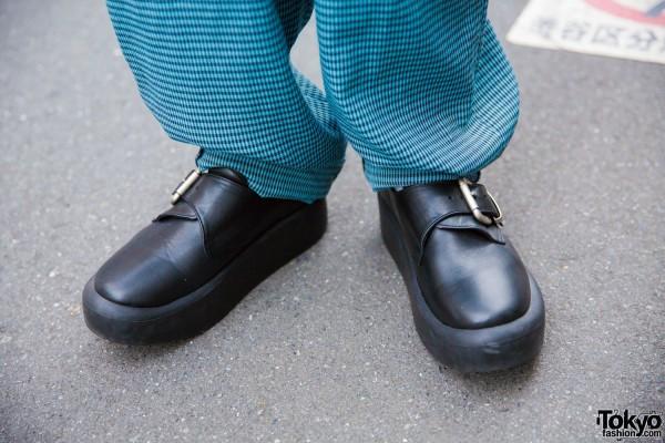 Tokyo Bopper Platform Buckle Shoes