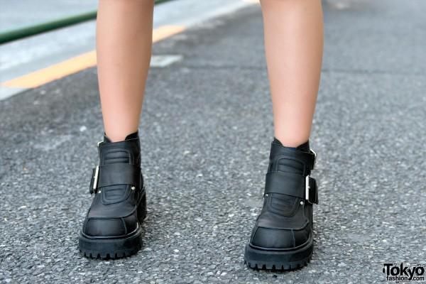 UNIF Platform Buckle Shoes