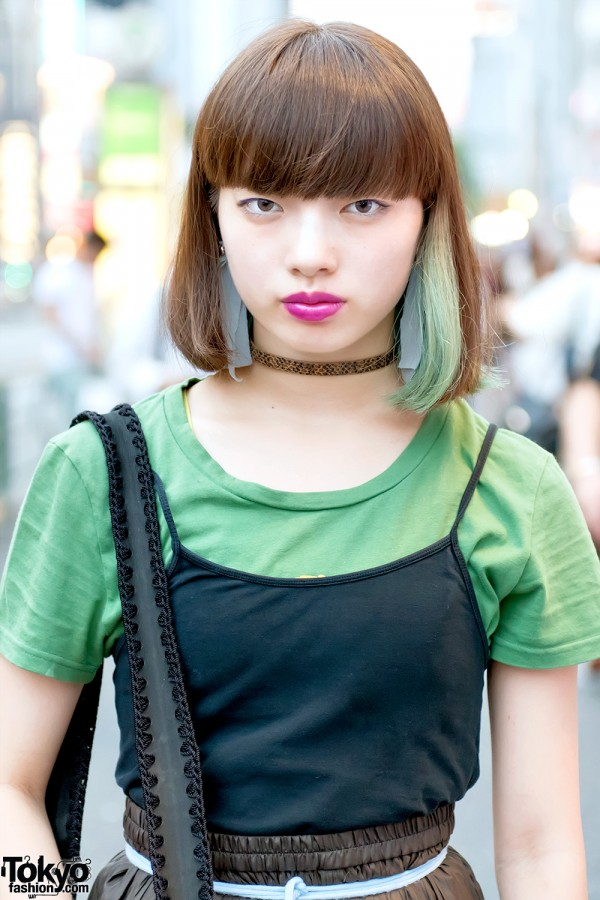 Dancer Aoi on the Street in Harajuku