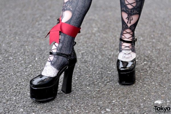 metamorphose temps de fille Platform Heels