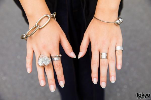 Silver Bracelets & Rings