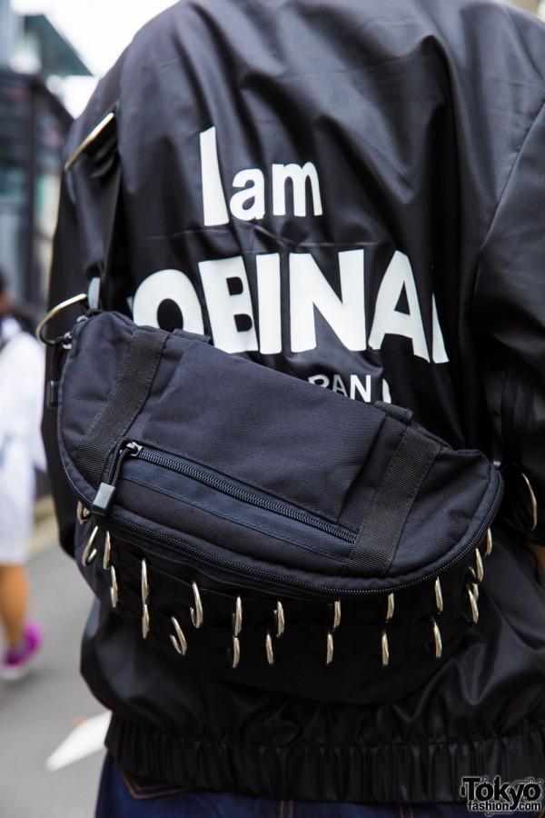 Elephant Tribal Fabrics Sling Bag