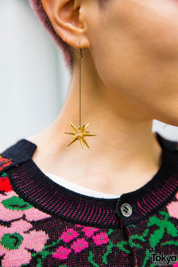 Shiho Tabei Drop Earrings