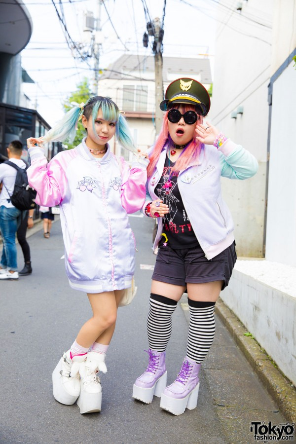 Pastel-Haired Harajuku Girls in Colorful Fashion w/ Listen Flavor, Liz Lisa, Yosuke & 6%DokiDoki