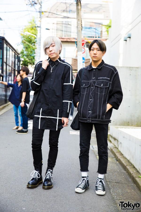 Harajuku Monochrome Fashion w/ M.Y.O.B., Never Mind the XU, Milk Boy & Chrome Hearts