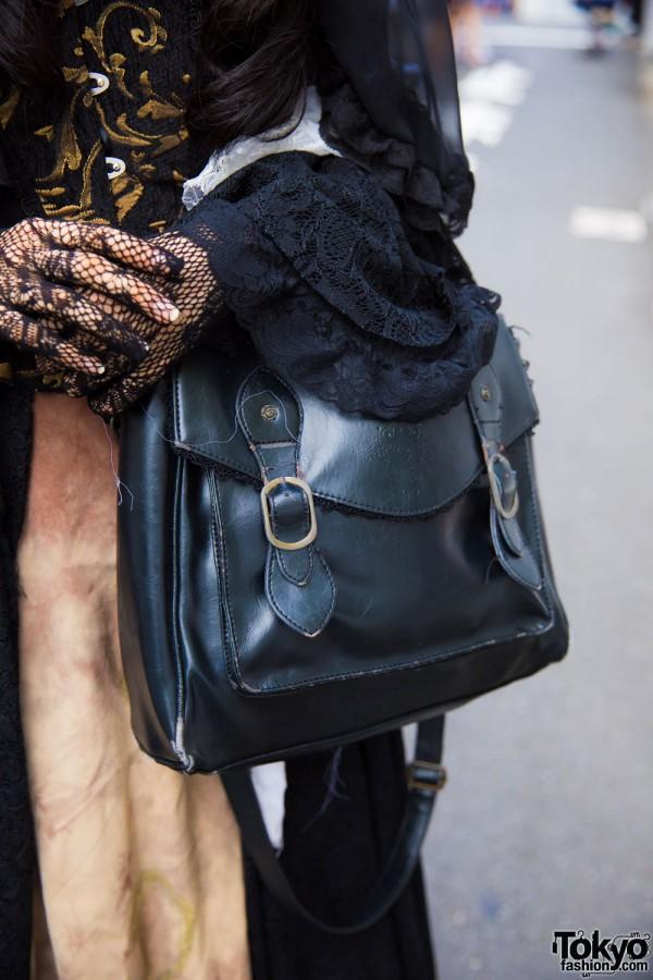Axes Femme Leather Handbag