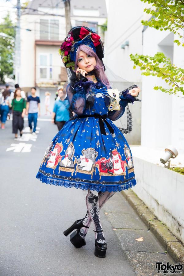 Angelic Pretty Lolita Hoop Skirt Dress
