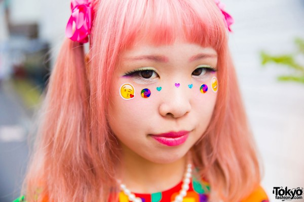 Colored Eyebrows & Eye Stickers/Jewels