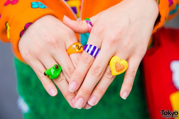 Claire's Decora Rings
