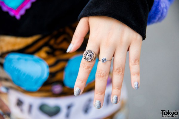 Badqueen Silver Rings