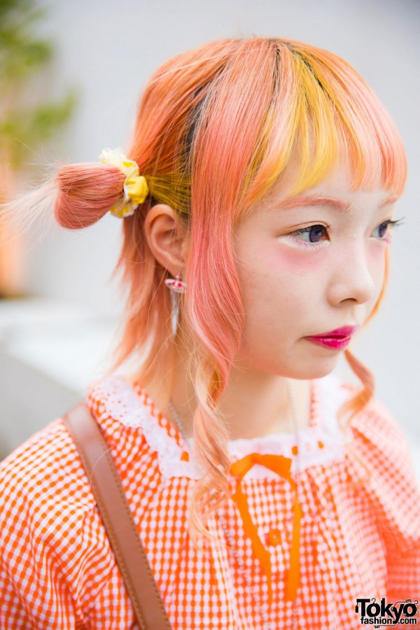Orange & Yellow Hair Color