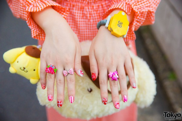 Onsen Watch & Cute Colorful Rings