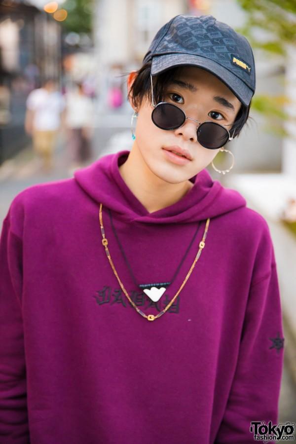 G.V.G.V Purple Hoodie