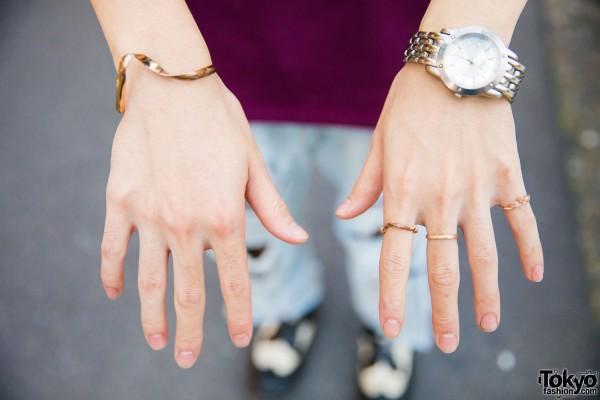 Watch, Bracelet & Rings