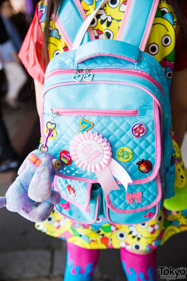 Spinns Quilted Backpack