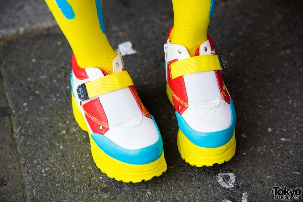 Yosuke Colorful Platform Shoes