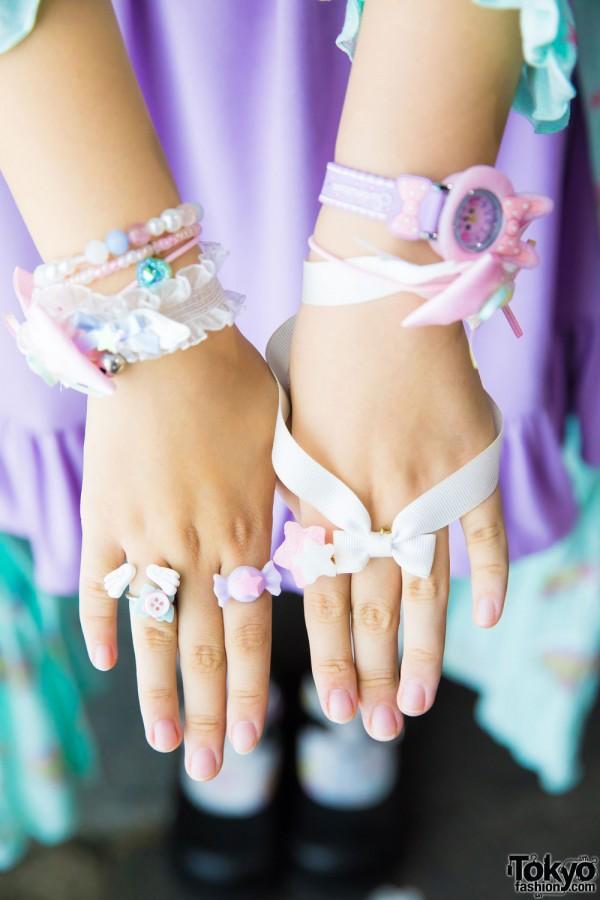 Milkychan & Swimmer Bracelets, Compeitou & Spank Rings