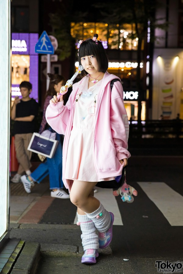 All Pink Harajuku Fashion w/ Tatsumi Tsurushima, Precure, Nile Perch, 2.Xjigen & Romantic Standard