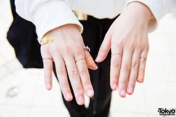 Monomania & Faith Silver Rings