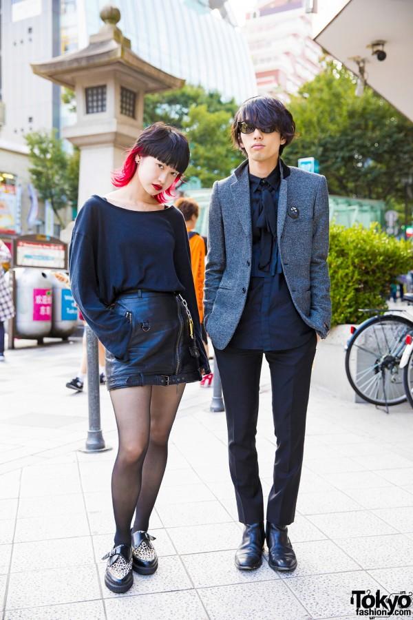 Minimalist Harajuku Fashion w/ Christian Dada, Saint Laurent, John Lawrence Sullivan & Yoshiko Creation Paris