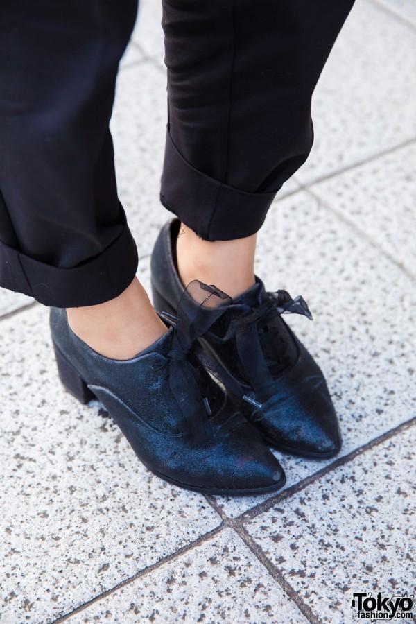 Randa Pointy Toe Heeled Loafers