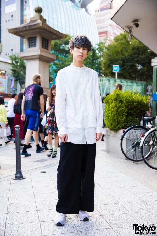 Harajuku Minimalist Style With Hare, GU & Nike