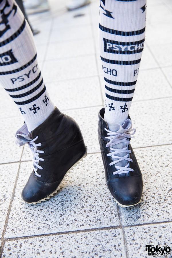 Style Icon Tokyo Socks & Puma X Chalayan Booties