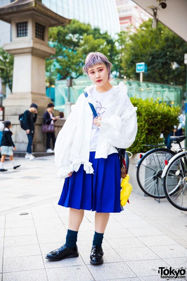 Harajuku Girl in Mikio Sakabe & Comme Des Garcons