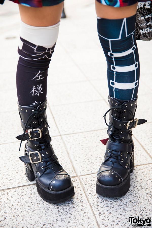 Yosuke Platform Bucklet Boots