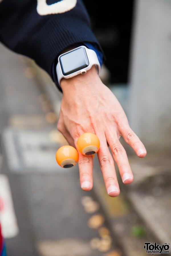 Smart Watch & Eyeball Ring