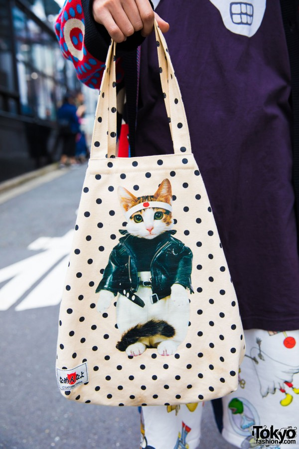 Satoru Tsuda x Galaxxxy Cat Bag