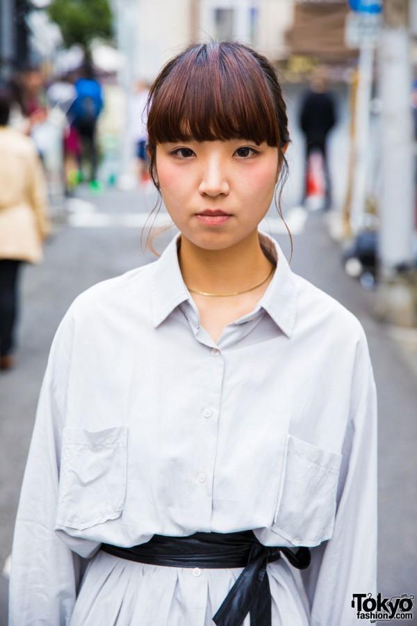 Shirt Dress from Korea