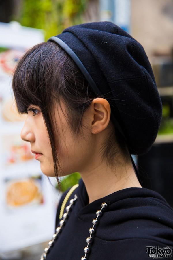 Black Beret Harajuku