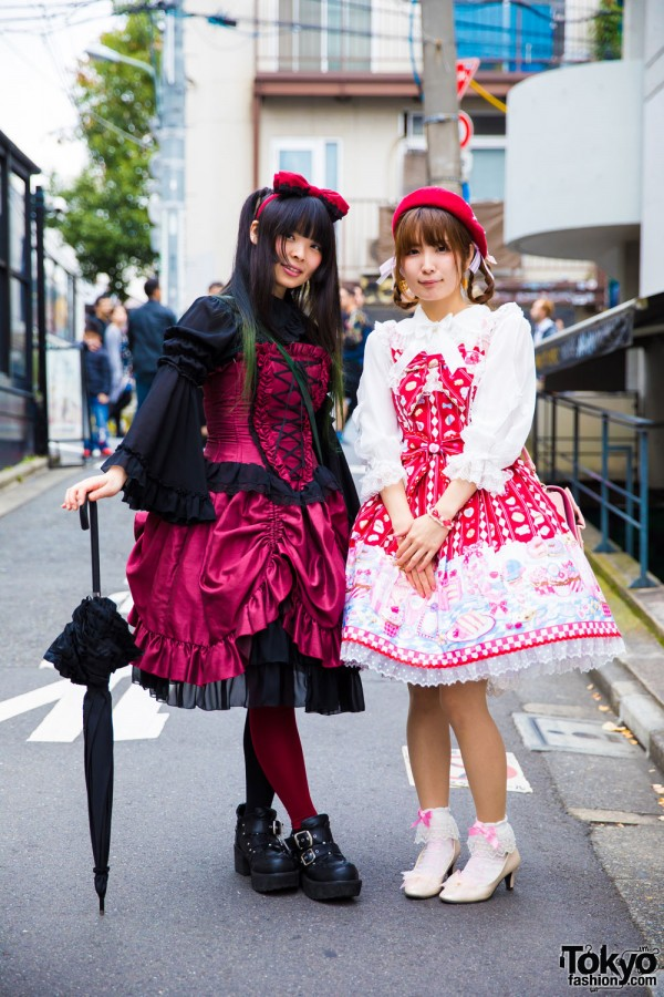 Harajuku Lolita Girls in Angelic Pretty, Putumayo, Lodispotto & Axes Femme